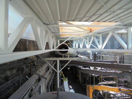 Dachsanierung Kernmachereihalle Georg Fischer AG Traisen