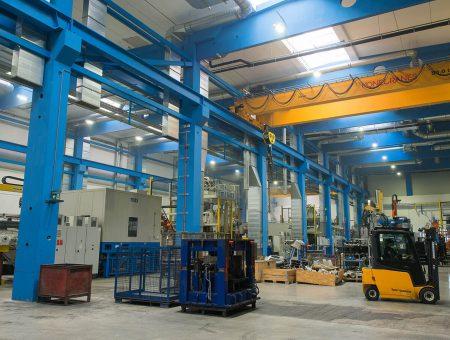 Neuerrichtung einer 3-schiffigen Produktionshalle Georg Fischer AG Herzogenburg
