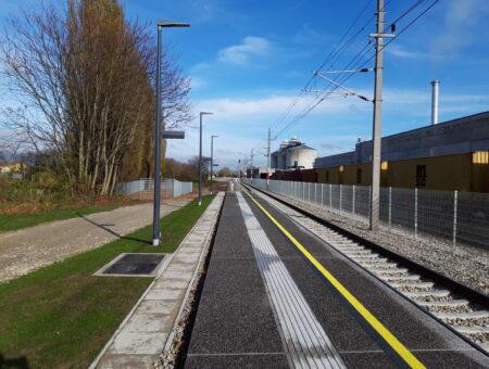 ÖBB-Strecke Tulln – St. Pölten, Gleisneulage Herzogenburg Süd – St. Pölten