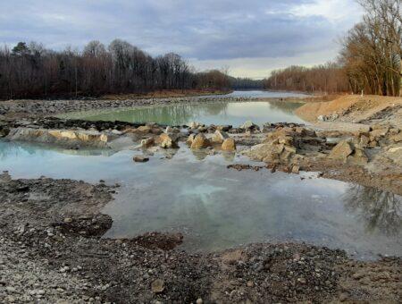 KW St. Pantaleon Restwasserstrecke – Sohlrampen